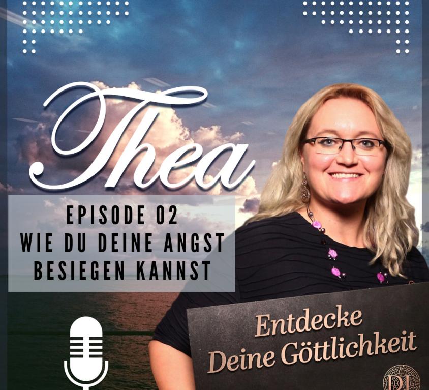 Wie Du Deine Angst besiegen kannst Podcast Cover 02