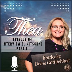 """Selbstheilungskräfte aktivieren Podcast Cover II """"Thea-Entdecke Deine Göttlichkeit"""""""