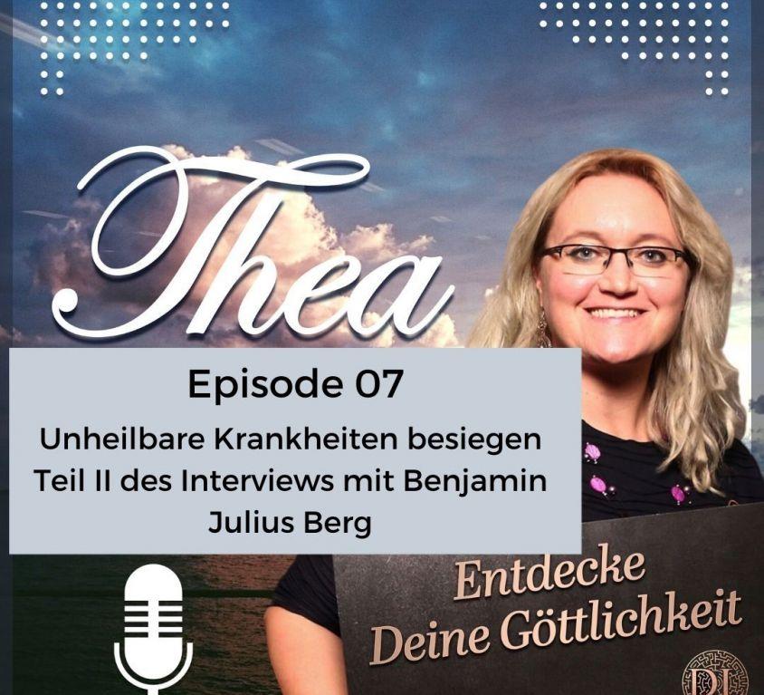Podcast Cover Episode 7 chronische Erkrankungen heilen
