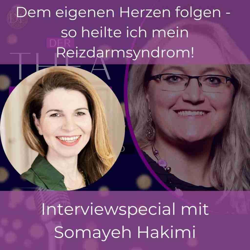 Reizdarmsyndrom selbst heilen Interview Somayeh Hakimi