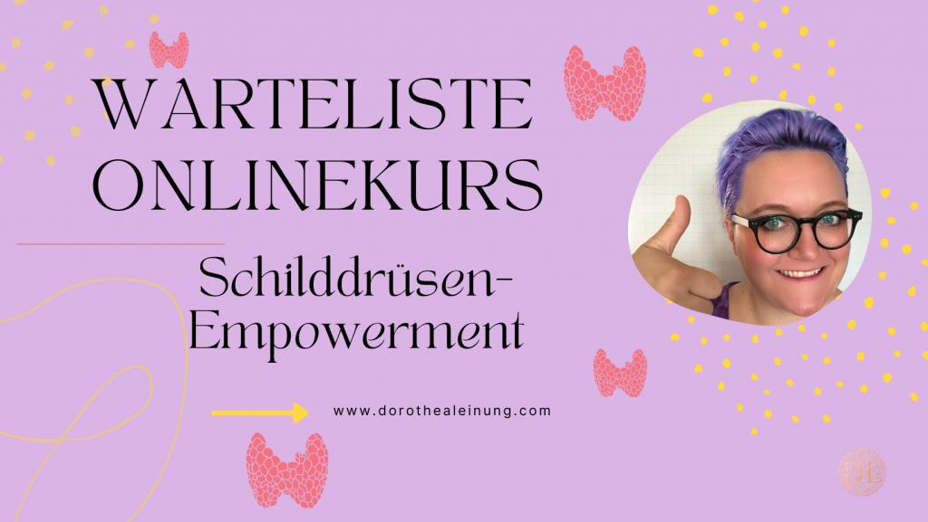 Schilddrüsen-Empowerment